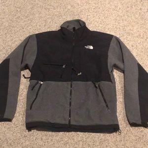 Vintage The North Face Grey black Denali jacket M
